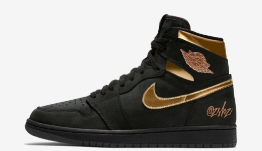"【Nike】Air Jordan 1 Retro High OG ""Black Metallic Gold""が2020年に発売予定"