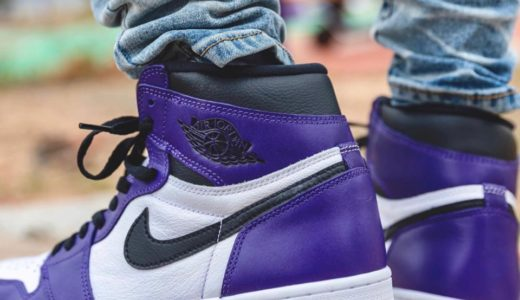 "【Nike】Air Jordan 1 Retro High OG ""Court Purple""が2020年4月4日に発売予定"