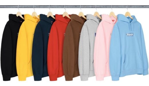 【Supreme】2019FW Bandana Box Logo Hooded Sweatshirt 各カラー画像まとめ