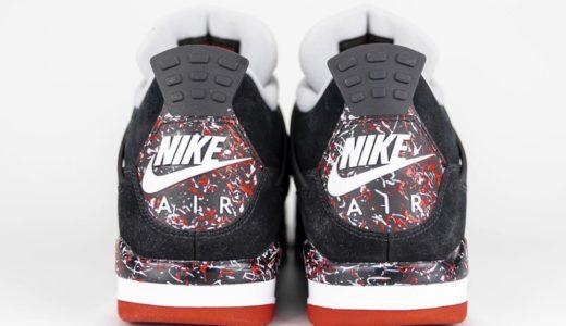 "【OVO × Nike】Air Jordan 4 Retro ""Splatter""のサンプル画像がリーク"
