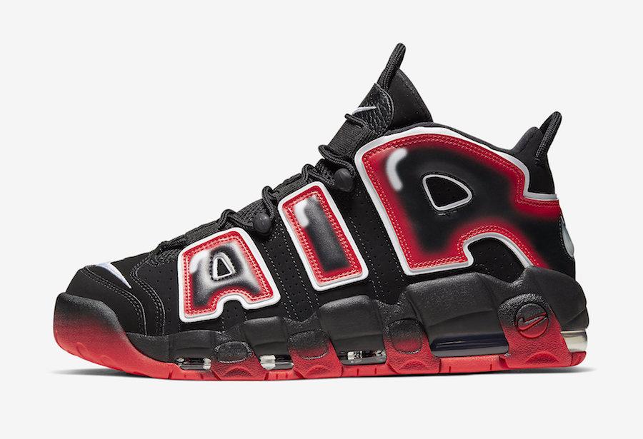 "Nike】Air More Uptempo ""Laser Crimson""が"
