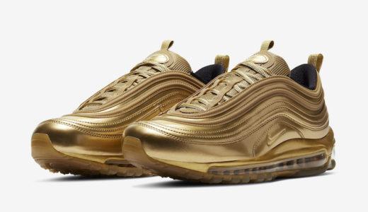 "【Nike】金メダルをモチーフにした新作Air Max 97 QS ""Gold Medal""が国内2月27日に発売予定"