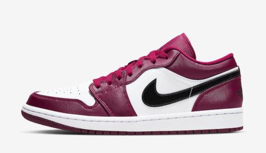 "【Nike】Air Jordan 1 Low ""Noble Red""が国内1月18日に発売予定"