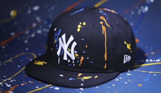 【New Era®︎】スプラッシュペイントを刺繍で表現したSplash Embroideryシリーズが1月28日に発売