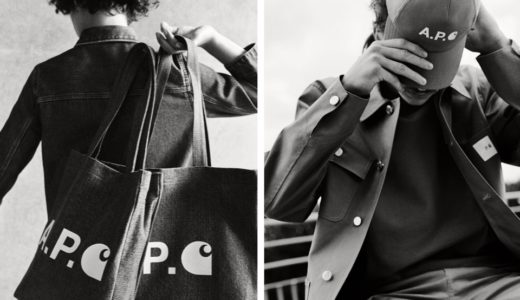 【A.P.C. × Carhartt WIP】最新コラボコレクションが1月10日に発売予定