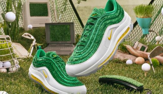 """【Nike】Air Max 97 Golf """"Grass""""が1月27日に発売予定"""