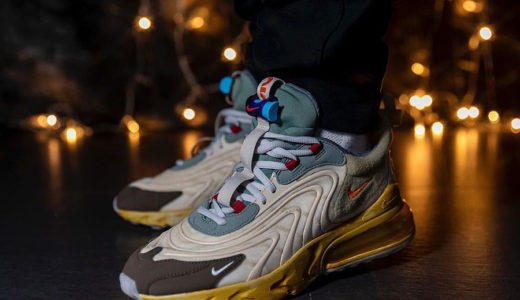 "【Nike × Travis Scott】Air Max 270 React ""Cactus Trails""が国内2020年5月29日に発売予定"