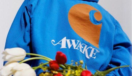 【Awake NY × Carhartt WIP】最新コラボコレクションが国内1月28日に発売予定