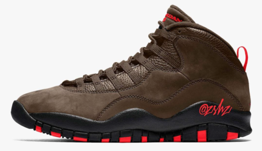 "【Nike】Air Jordan 10 Retro ""Dark Mocha""が9月26日に発売予定"
