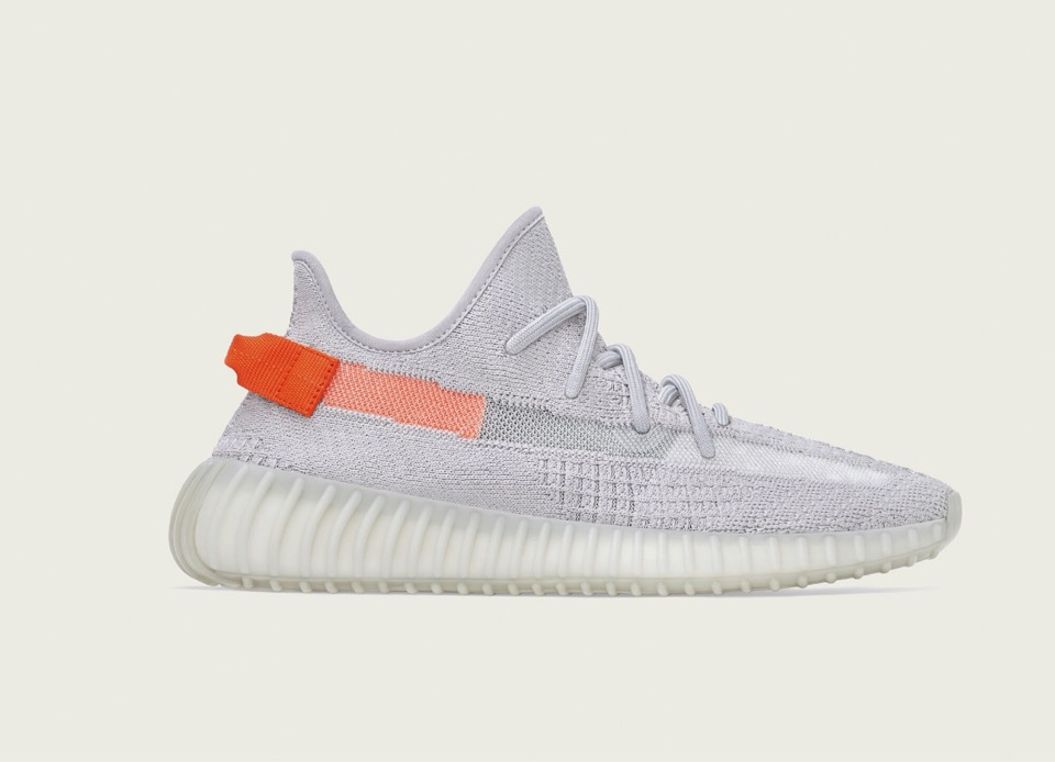 yeezy 350 grau orange