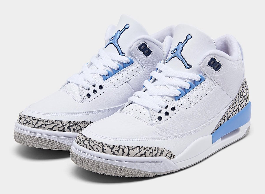 "Nike】Air Jordan 3 Retro ""UNC""が国内"