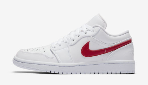 "【Nike】Wmns Air Jordan 1 Low ""White/University Red""が国内2020年5月3日に発売予定"