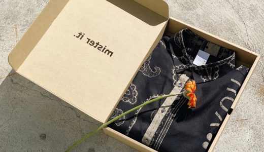 【mister it.】砂川卓也が手がけるRESTIR限定バンダナシャツが2月26日に発売予定