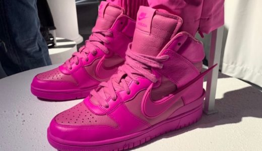"【AMBUSH × Nike】Dunk High ""Pink"" & ""Black/White""が2020年に発売予定"