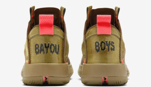 "【Nike × Zion Williamson】Air Jordan 34 ""Bayou Boys"" PEが2020年3月13日に発売予定"
