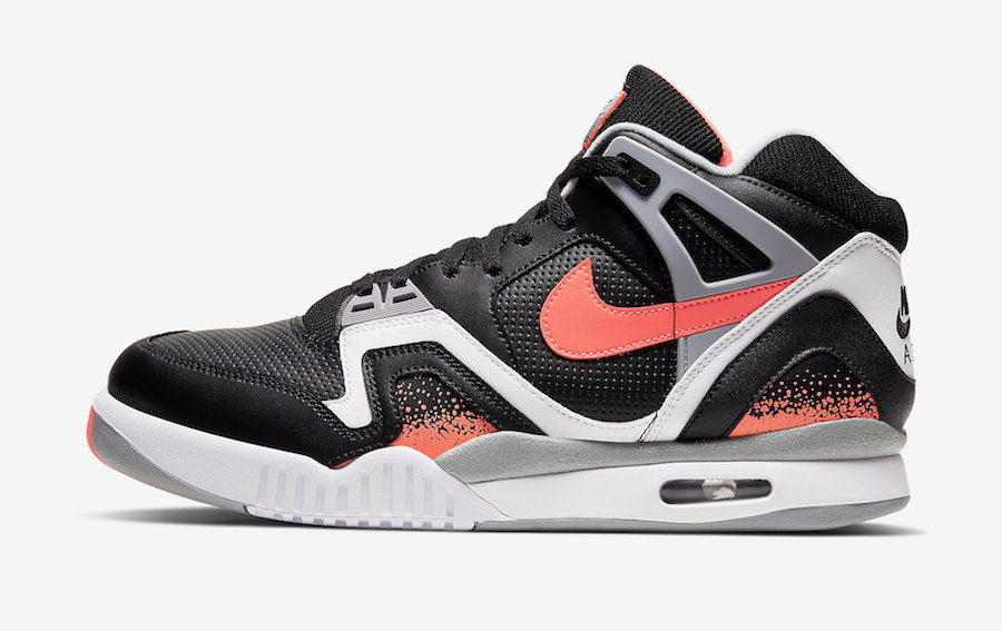 "Nike】Air Tech Challenge 2 ""Black Lava"