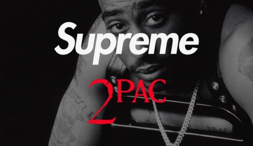 【2Pac × Supreme】2020SS Week1にて伝説的ラッパーとのコラボレーションアイテムが発売予定