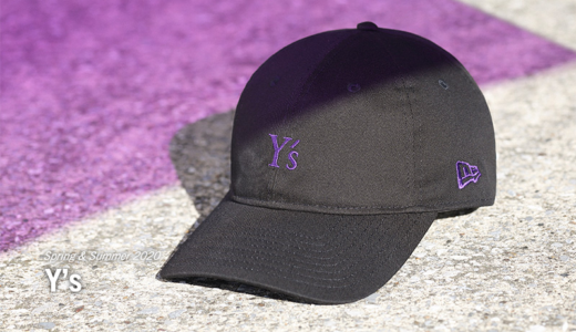 【Y's × New Era®︎】2020春夏最新コラボレーションアイテムが2月21日に発売予定