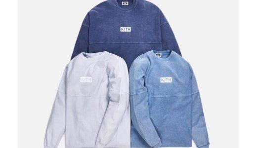 【Kith】インディゴ染めPaneled L/S Teeが2月24日に発売予定