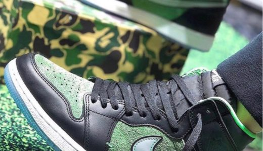 "【Nike】Air Jordan 1 High Zoom ""Rage Green""が2020年6月20日に発売予定"