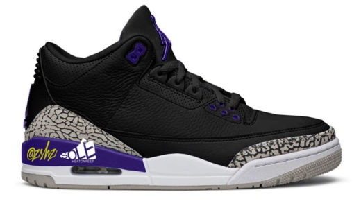"【Nike】Air Jordan 3 Retro ""Court Purple""が2020年11月14日に発売予定"