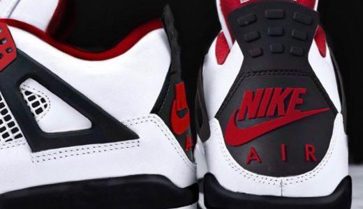"【Nike】Air Jordan 4 Retro OG ""Fire Red""が2020年11月27日に復刻発売予定か"