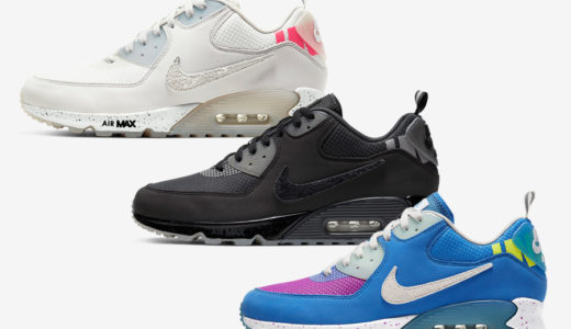【UNDEFEATED × Nike】Air Max 90 Collection 全3色が2020年3月14日より発売予定