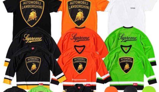 【Supreme × Lamborghini】2020SS Week6 国内4月4日に発売予定の全商品一覧 価格など