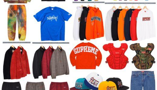 【Supreme × RAMMELLZEE】2020SS Week4 国内3月21日に発売予定の全商品一覧 価格など