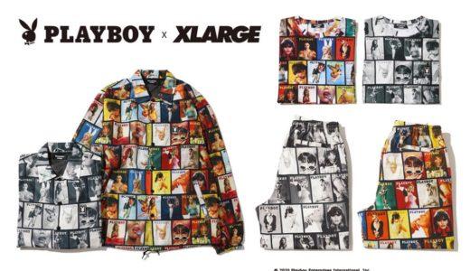 【XLARGE®︎ × PLAYBOY】初コラボレーションアイテムが3月20日に発売予定