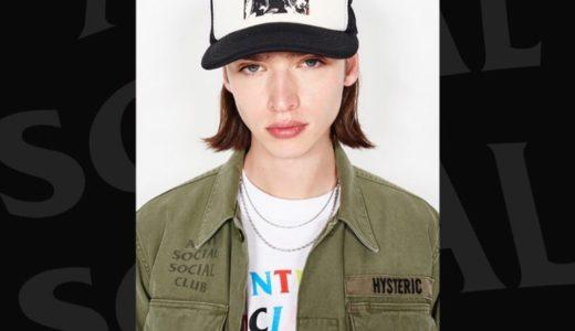 【Anti Social Social Club × HYSTERIC GLAMOUR】最新コラボコレクションが国内4月4日に発売予定