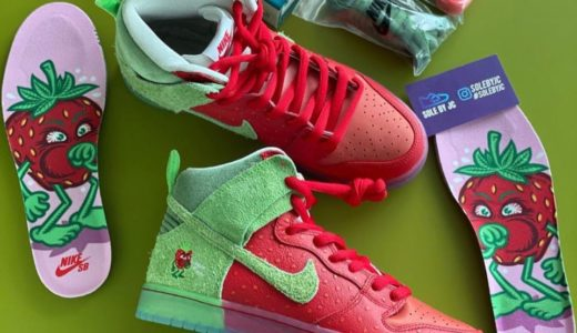 "【Nike SB × Todd Bratrud】Dunk High Pro QS ""Strawberry Cough""が2020年7月に発売予定"