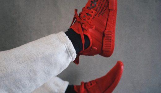 """【atmos × adidas】別注モデル NMD R-1 """"TRIPLE RED""""が国内4月18日に発売予定"""