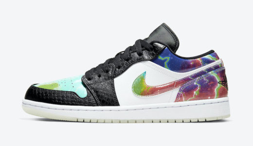 "【Nike】Air Jordan 1 Low ""Galaxy Snakeskin""が2020年近日発売予定"