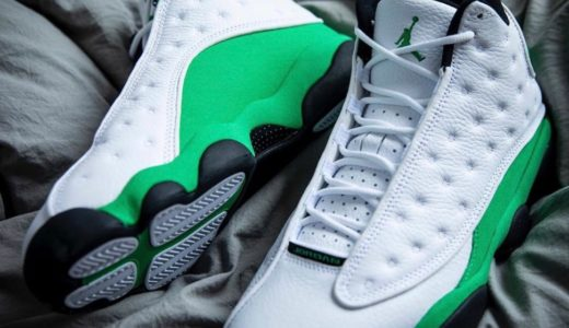 "【Nike】Air Jordan 13 Retro ""Lucky Green""が2020年7月4日に発売予定"