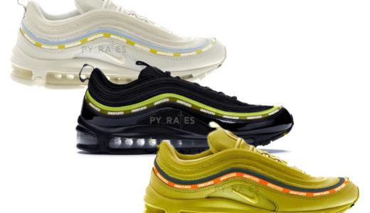【UNDEFEATED × Nike】Air Max 97 全3色が2020年ホリデーシーズンに発売予定