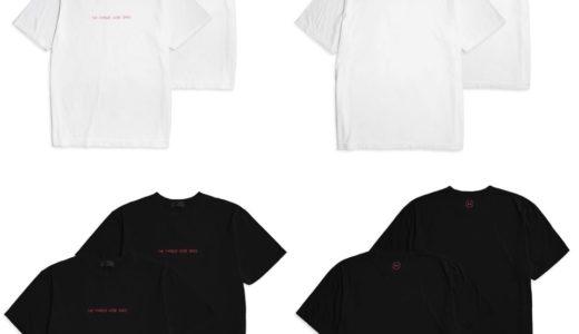 【fragment design × GOD SELECTION XXX】最新コラボTシャツが4月25日に発売予定