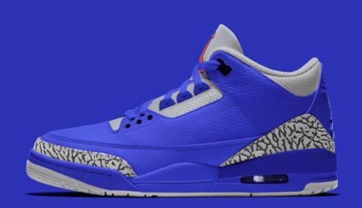 """【Nike】Air Jordan 3 Retro """"Varsity Royal""""が2020年6月25日に発売予定"""