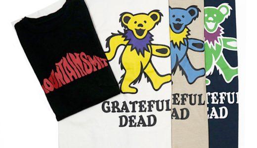 【GRATEFUL DEAD × MOUNTAINSMITH × S.YAMANE】コラボTシャツが5月中旬に発売予定