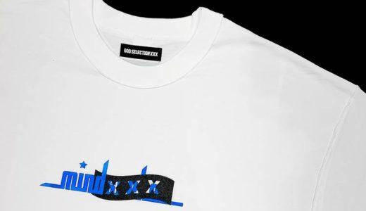 【mindseeker × GOD SELECTION XXX】最新コラボレーションTシャツが5月15日に発売予定