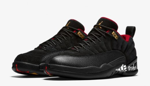 "【Nike】Air Jordan 12 Retro Low SE ""Black/Varsity Red""が2021年初旬に発売予定"