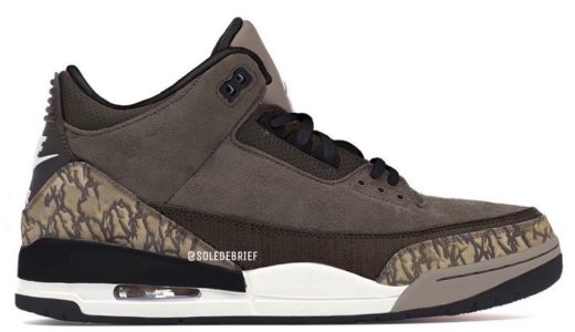 【Travis Scott × Nike】Air Jordan 3 Retroが2021年に発売予定か【噂】