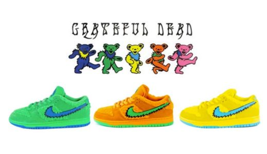 "【Nike SB × Grateful Dead】Dunk Low Pro QS ""Dancing Bear""が2020年夏に発売予定"
