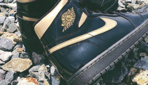 "【Nike】Air Jordan 1 Retro High OG ""Black Metallic Gold""が2020年後半に発売予定"