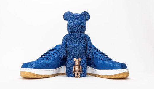 【CLOT × Nike × MEDICOM TOY】BE@RBRICK 100% & 400%が国内6月27日に発売予定