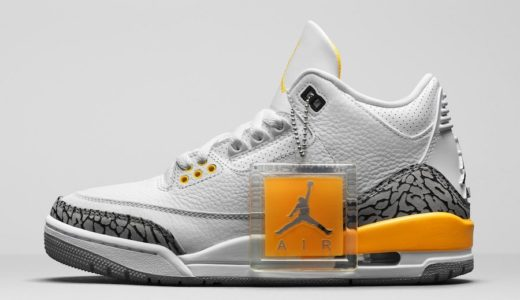 "【Nike】Wmns Air Jordan 3 Retro ""Laser Orange""が国内8月22日に発売予定"