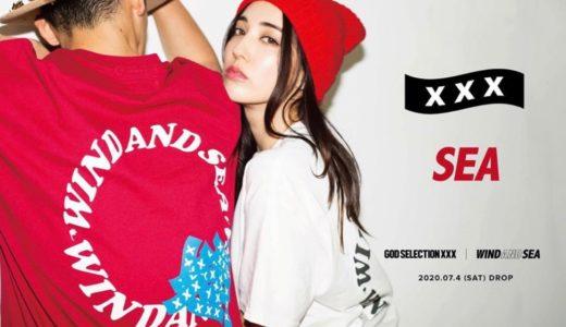 【WIND AND SEA × GOD SELECTION XXX】最新コラボコレクションが9月4日に再販売予定