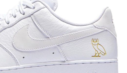 【OVO × Nike】Air Force 1 Lowが2021年に発売予定か