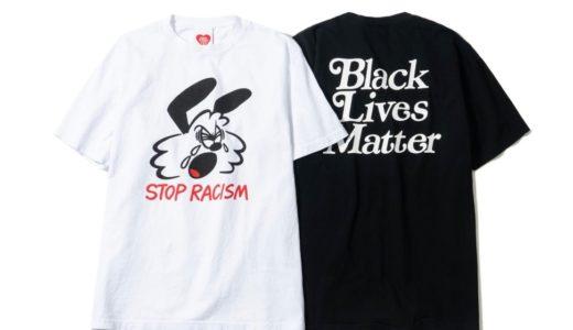 【VERDY】チャリティーTシャツ〈Black Lives Matter Tee〉の受注販売が6月27日に開始