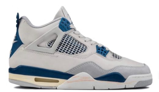 "【Nike】Air Jordan 4 Retro ""Military Blue""が2021年に復刻発売予定か"